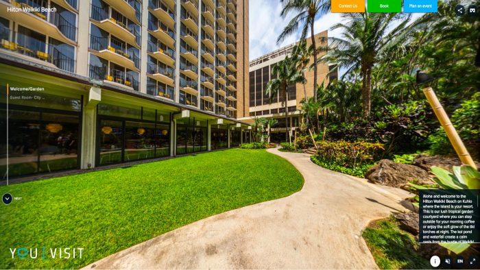 Hilton Waikiki Virtual Reality Hotel Experience